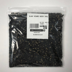 black sesame seeds 100 grams