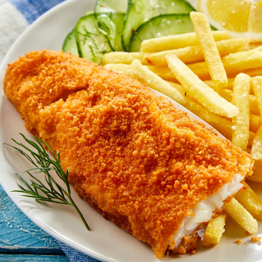 Krunchie by High Liner breaded basa fillets boneless 454 grams frozen