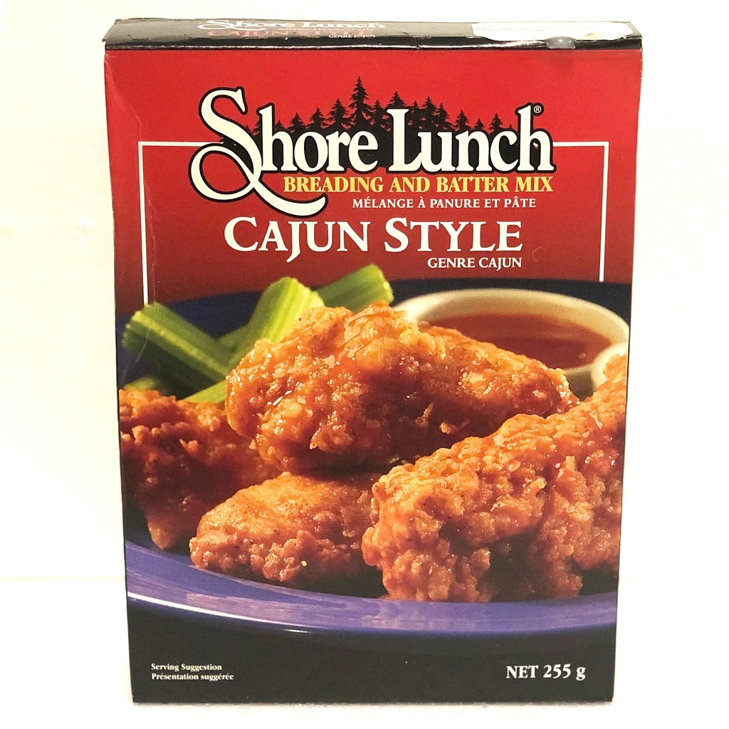 shore lunch cajun style breading and batter mix 255 grams
