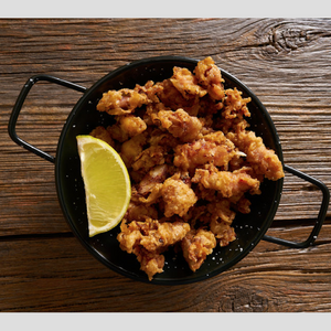 sea salt and peppercorn calamari bites 454 grams