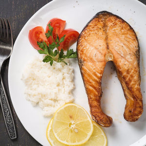 lake trout steak