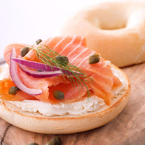lox bagel and capers