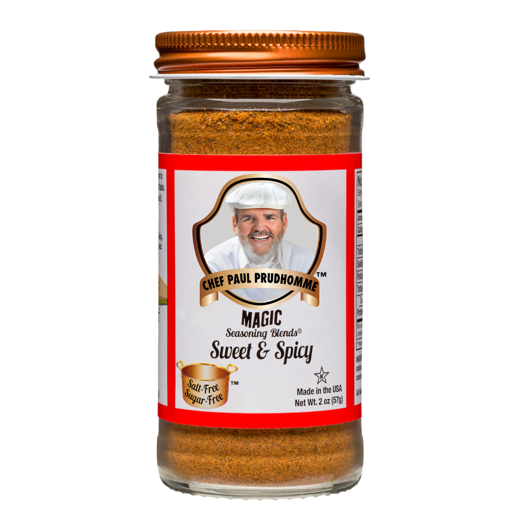 magic seasoning sweet and spicy chef paul prudhomme 57 grams