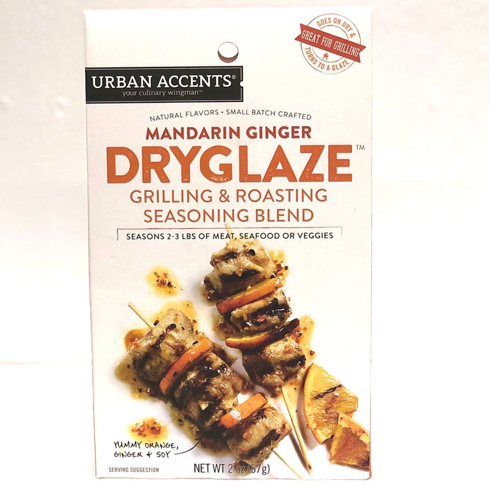 mandarin ginger dry glaze seasoning blend for grilling and roasting 57 grams