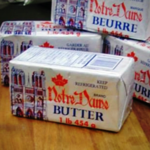 notre dame butter 454 grams