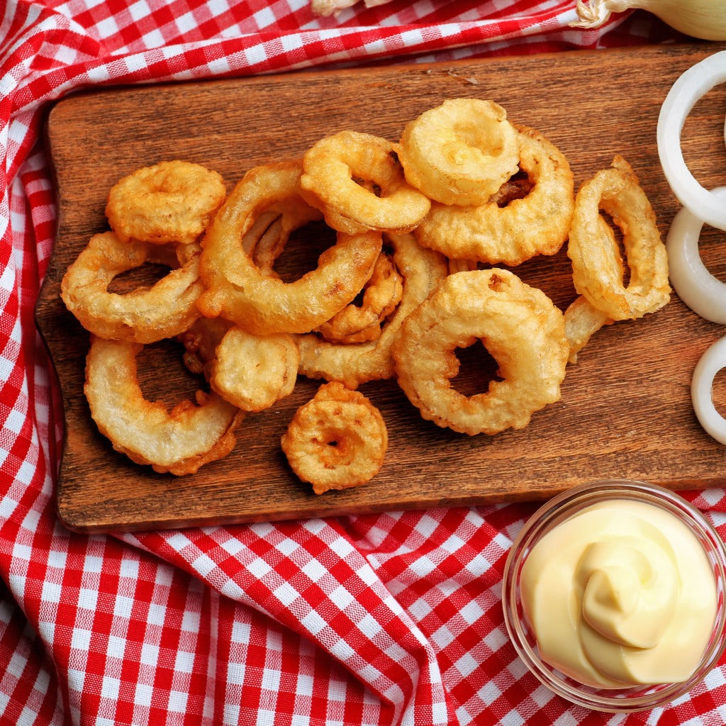 onion rings 454 grams