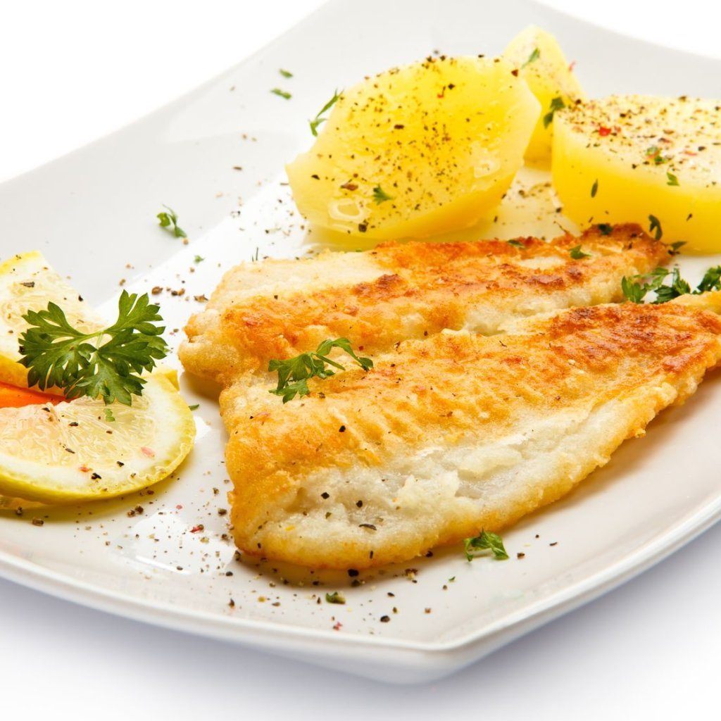 pan fried pickerel