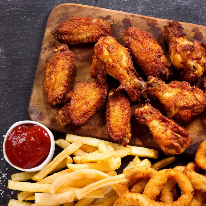 breaded spicy chicken wings 908 grams