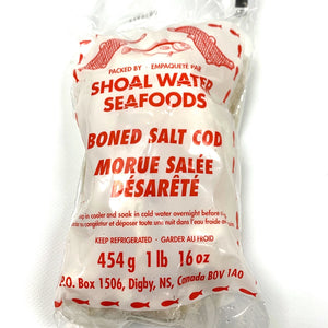 shoal water salt boned cod 454 grams