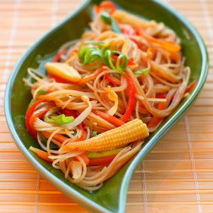 pasta with supreme stir fry vegetables