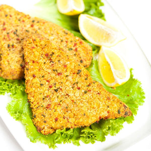 tortilla tilapia breaded and seasoned 150 grams