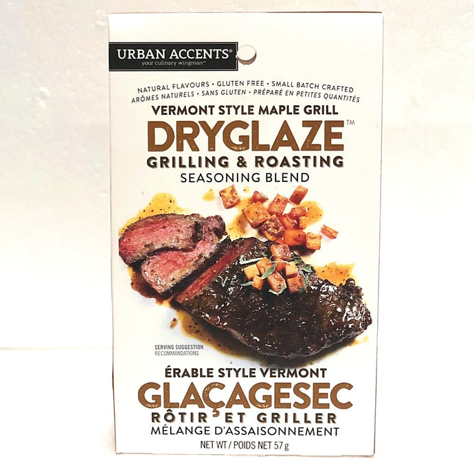 vermont style maple grill seasoning dry glaze  for grilling and roasting 57 grams