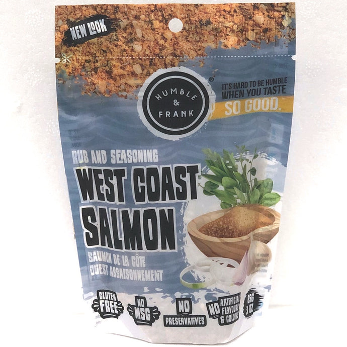 humble and frank west coast salmon rub and seasoning 85 grams