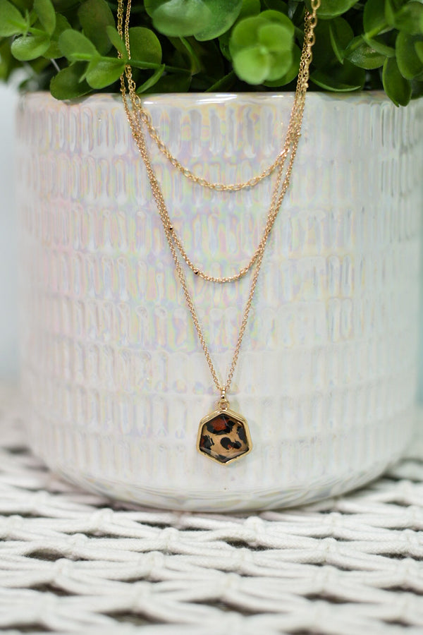Predator Print Necklace