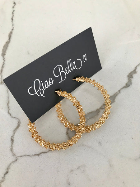 Freya Hoop Earrings