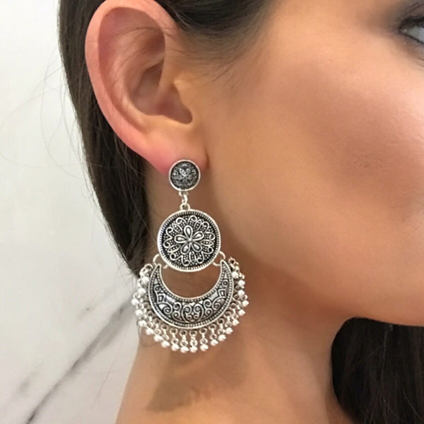 Trinket Earrings - silver