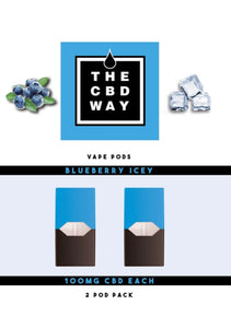 Blueberry Icey CBD Pods (2 Pack)