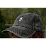 HoN 'Don't Touch My Hair' Cotton Twill Logo Cap