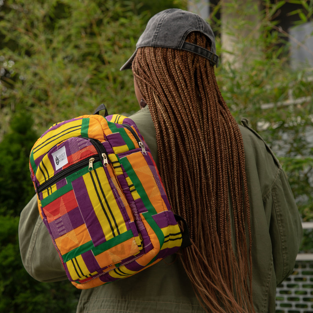 #HoN African Print Backpack - Small