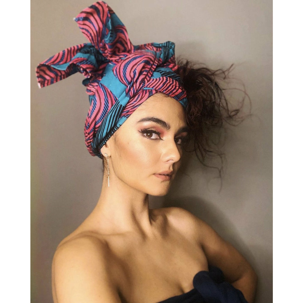 'Don't Touch My Hair' Custom Head Wrap