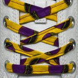 Amahle Wax Print Laces - Yellow/Purple/Green