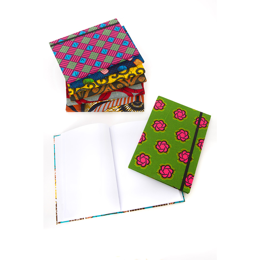 HoN Ankara Cloth Covered Sketchbook