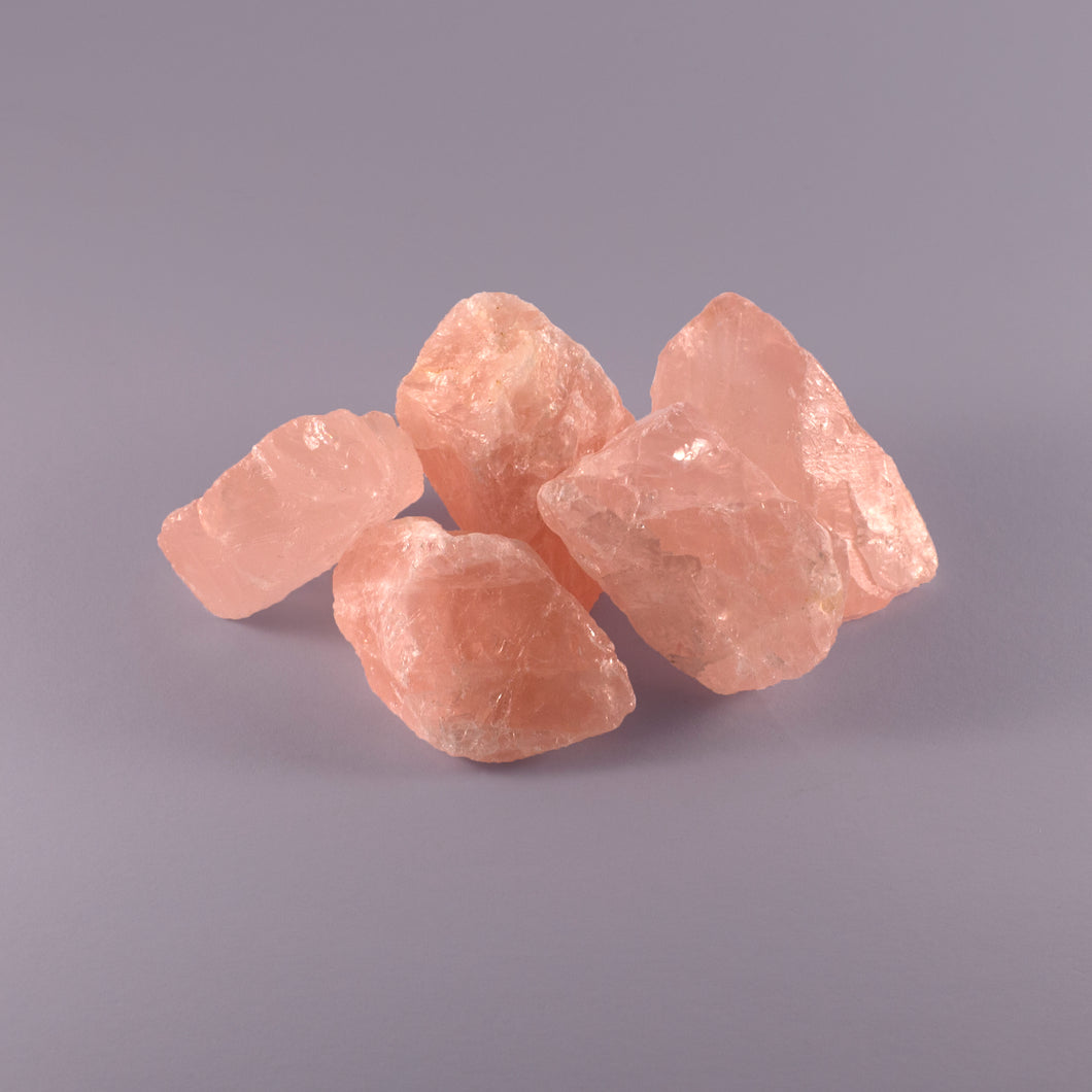 SMALL ROSE QUARTZ