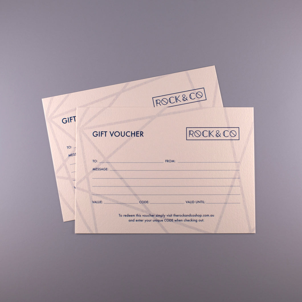 ROCK & CO E-GIFT VOUCHER