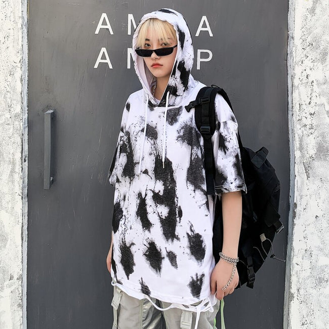 Dalmatian hooded t-shirt