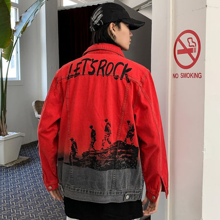 ROCK ghost jacket