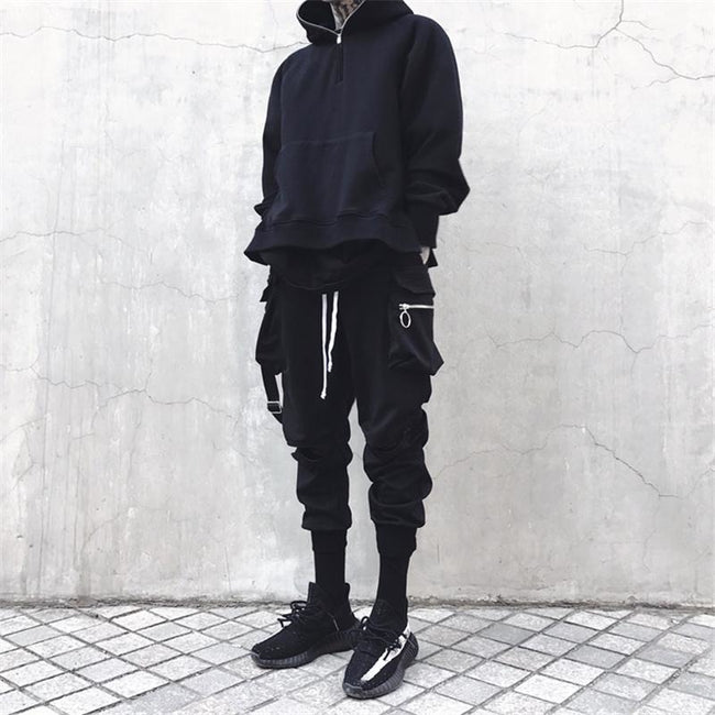 joggers with straps