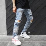 Reflective Woral jeans