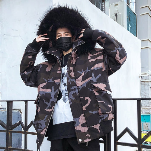 Reflective winter jacket