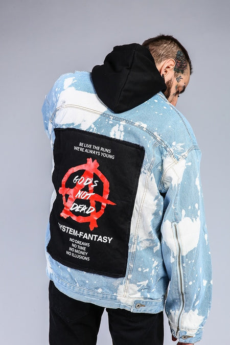 Vertically clawed parka