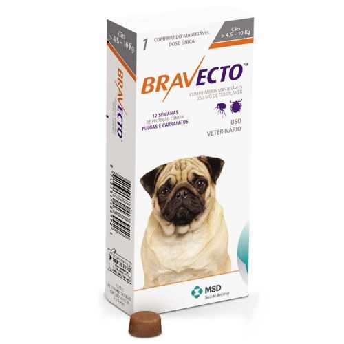 Bravecto Chews for Medium Dogs 4.5-10KG