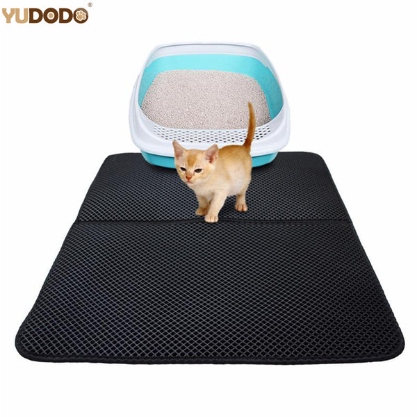 Double-Layer Waterproof Cat Litter Mat
