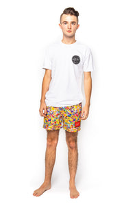 Lot-P Swim Shorts - EMOJI DESIGN
