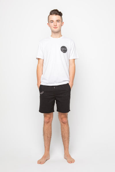 Men's Basic Longline T-Shirt - White