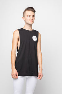 Men's Basic Tank Tee - Black