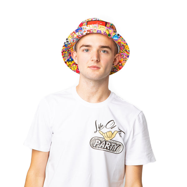 Lot-P Bucket Hat - EMOJI DESIGN