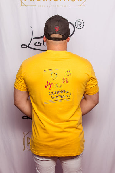 Men's T-shirt - Cutting Shapes