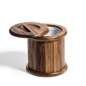 Wooden 3 Qt Ice Bucket