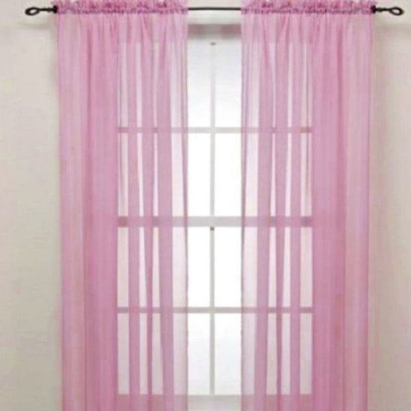 Yarn Curtain Window Pure Color