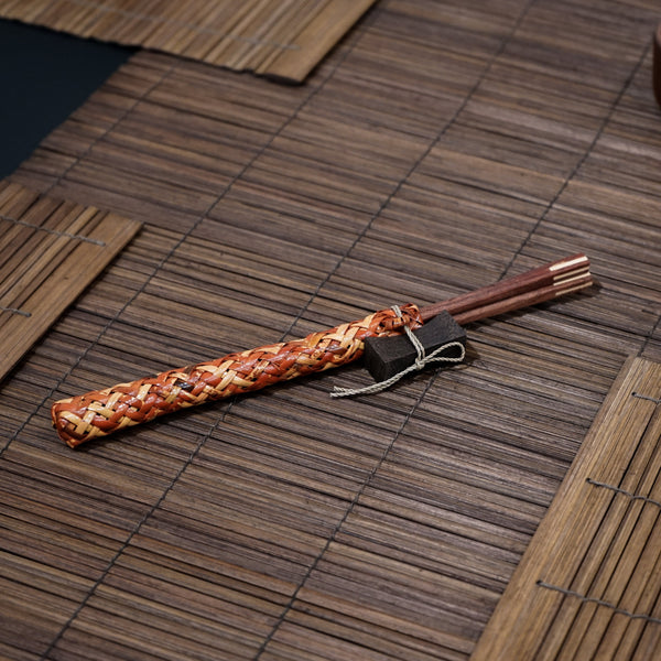 Wooden Chopstick (2 Set)