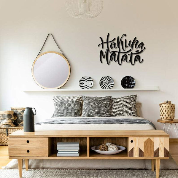 Hakuna Matata Hanging Wall Decoration (Metal)