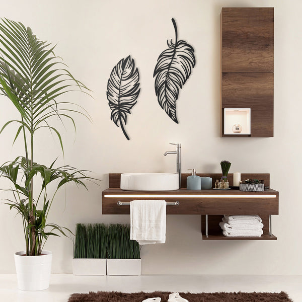 Leaves of Peace Hanging Wall Decoration (Metal)