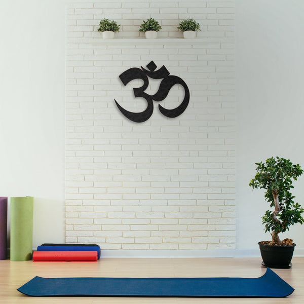 Om Sign Hanging Wall Decoration (Metal)