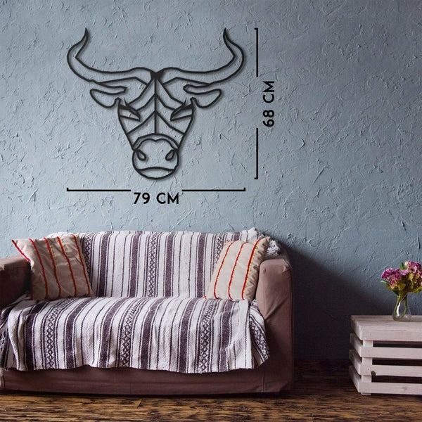 Taurus Wall Hanging Decoration (Metal)