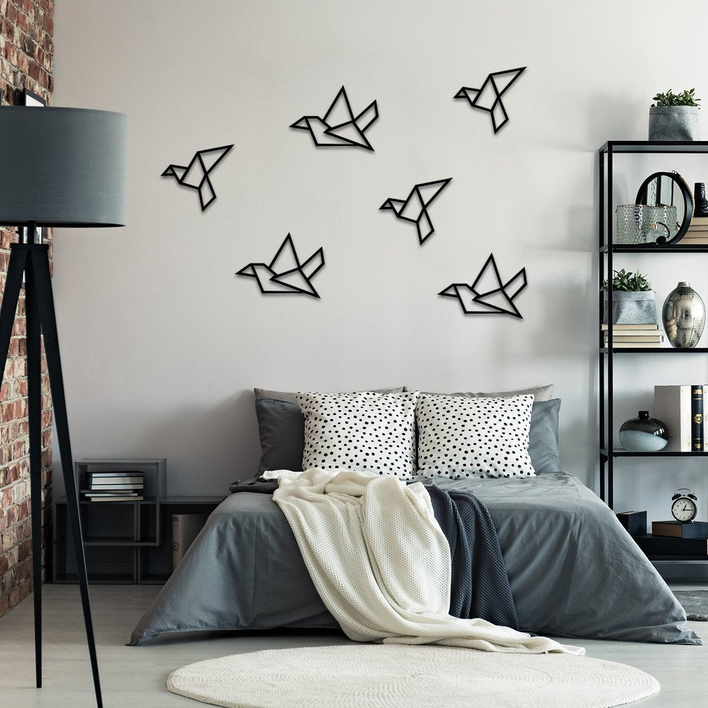 Birds of Freedom (4/6) - Hanging Wall Decoration (Metal)