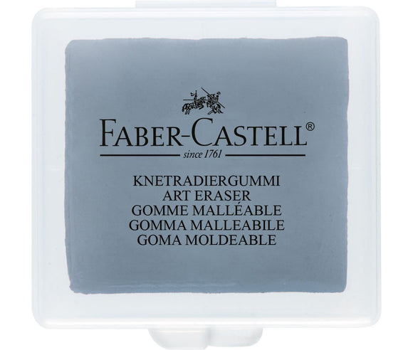 Faber-Castell German Kneadable Art Eraser, Grey (127220)